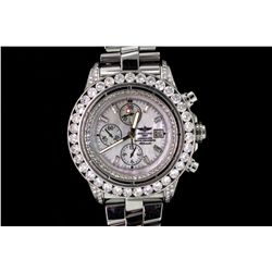 WATCH: Men's st.steel Breitling Super Avenger chronograph wristwatch