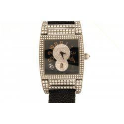 WATCH: Mens st.steel de Grisogono Instrumento No Uno model wristwatch