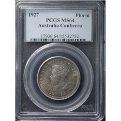 1927 Canberra Florin