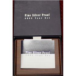 Fine Silver Proof Set 2003