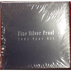 Fine Silver Proof Set 2004