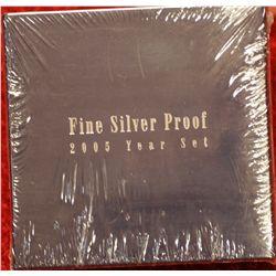 Fine Silver Proof Set 2005