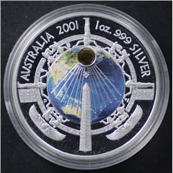 2001 Silver Millennium Coin