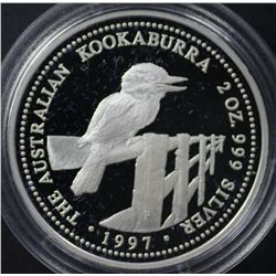 1997 2oz Silver