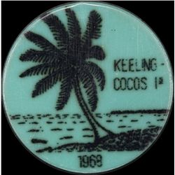 Cocos Keeling Set 1c to 25 Rupee