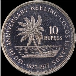 Cocos Keeling 10 & 25 Rupees