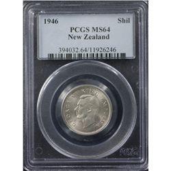 New Zealand 1946 Shilling