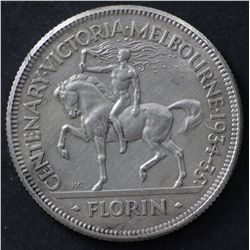 1934-35 Centenary Florin