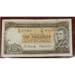 Ten Shilling Star Note