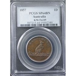 Australia 1857 ½ Penny