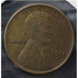 USA 1 Cent 1911-S