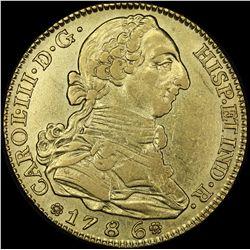 Mexico 4 escudos 1786