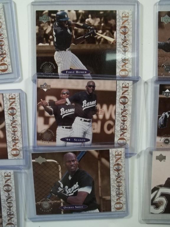 9 Michael Jordan Ud One On One Baseball Cards