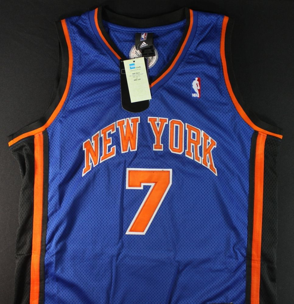 best sneakers d4a03 46e61 Carmelo Anthony Signed Knicks Jersey (GA COA)
