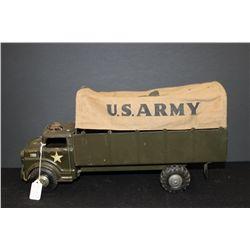 "ARMY CANVAS TROOP TRUCK BY LUMAR - 18"""