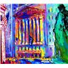 New York Stock Exchange Signed LE Neiman Art Print
