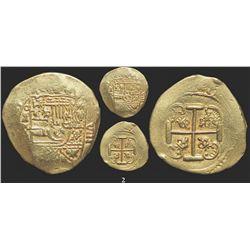 Mexico City, Mexico, cob 8 escudos, (1)712J, from the 1715 Fleet.