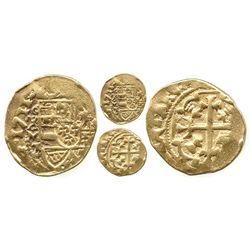 Mexico City, Mexico, cob 1 escudo, 1711J, full date (very rare thus), from the 1715 Fleet.
