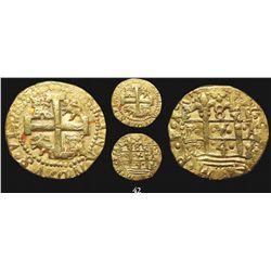 Lima, Peru, cob 8 escudos, 1748R, rare.