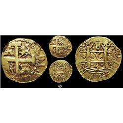 Lima, Peru, cob 8 escudos, 1749R, encapsulated NGC XF 40.