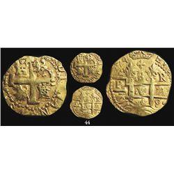 Lima, Peru, cob 8 escudos, 1749R.
