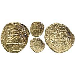 Bogota, Colombia, cob 2 escudos, 1714, from the 1715 Fleet.