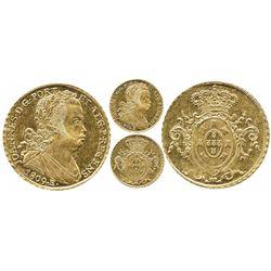 Brazil (Rio mint), 6400 reis, Joao as Prince Regent, 1809-R.