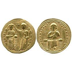 Byzantine Empire (Constantinople mint), histamenon nomisma, Romanus III Argyrus, 1028-34 AD, Constan