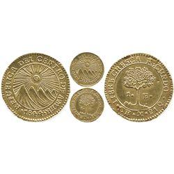 Costa Rica, 1 escudo, 1844M.