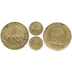 Costa Rica, 1 escudo, 1849JB.