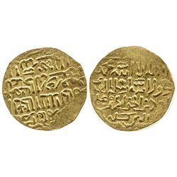 Mamluks (Egypt), dinar, Barquq, 1382-1399 AD, Cairo.