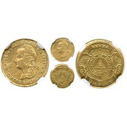 Honduras, 1 peso, 1907, ex-Eliasberg, encapsulated NGC MS 63.