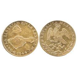 Guanajuato, Mexico, 8 escudos, 1844-PM.