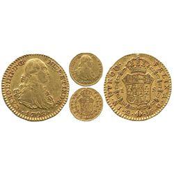 Madrid, Spain, bust 1 escudo, Charles IV, 1798MF.