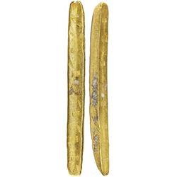 Atocha Complete Colombian gold bar, 2552 grams, 22K marked with foundry/assayer SARGOSA / PECARTA