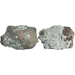 Large copper ingot #3141 from the Atocha (1622), heavily encrusted, 32 lb troy.