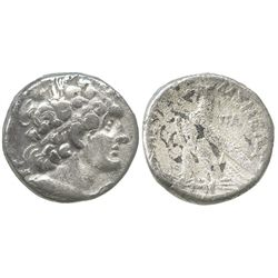 Ptolemaic Kings of Egypt, AR tetradrachm, Ptolemy XII Neos Dionysos (Auletes), 80-58 BC, Paphos mint