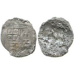 Mexico City, Mexico, cob 8 reales, Philip III, assayer not visible, ex-Mendel Peterson collection.