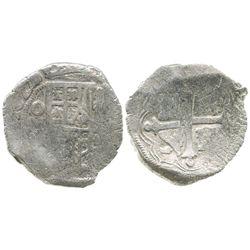 Mexico City, Mexico, cob 4 reales, 1622/0(D), Grade 1.
