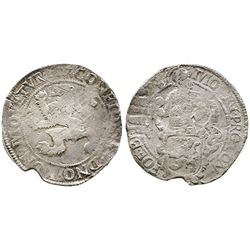 "Westfriesland, United Netherlands, ""lion"" daalder, 1617."