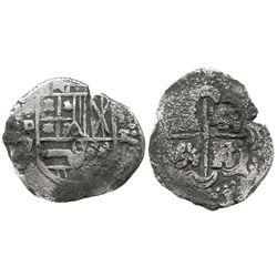 Potosi, Bolivia, cob 2 reales, (1649)O.