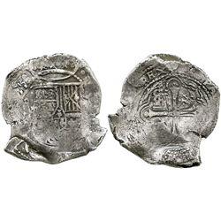 Mexico City, Mexico, cob 8 reales, (16)55(P).