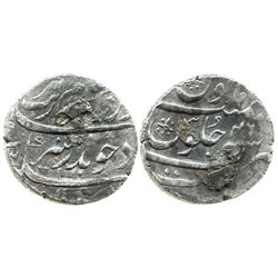Surat, India (Mughal Empire), rupee, Aurangzeb (1658-1707), AH1113 (1702).