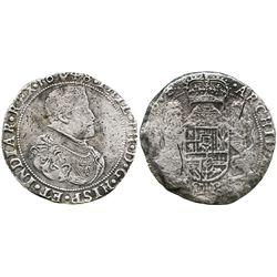 Brabant, Spanish Netherlands (Antwerp mint), portrait ducatoon, Philip IV, 1648.