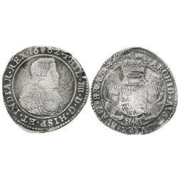 Brabant, Spanish Netherlands (Antwerp mint), portrait ducatoon, Philip IV, 1662.