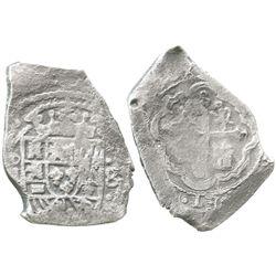 Mexico City, Mexico, cob 8 reales, (171)5(?)(J).