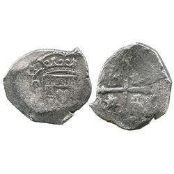 Mexico City, Mexico, cob 4 reales, (17)14(J).