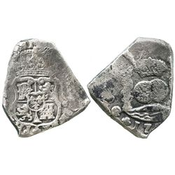 Guatemala, cob 8 reales, 173(?)J.