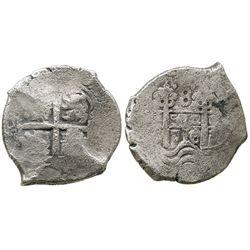 Potosi, Bolivia, cob 8 reales, 1716(Y).