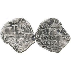 Potosi, Bolivia, cob 4 reales, 1684V.
